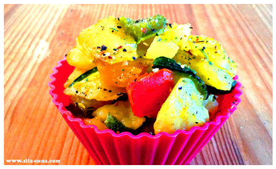 CUPTAPA: FRIED POTATOES WITH VEGGIES (VEGAN) / RECIPE