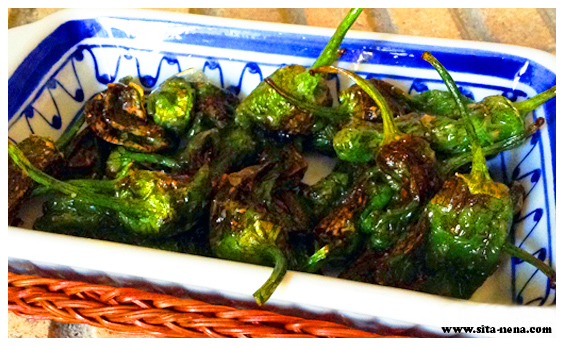 FRIED PADRÓN CHILI PEPPERS (VEGAN) / RECIPE