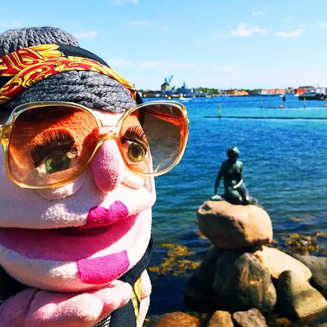 The little Mermaid of Copenhagen, Denmark