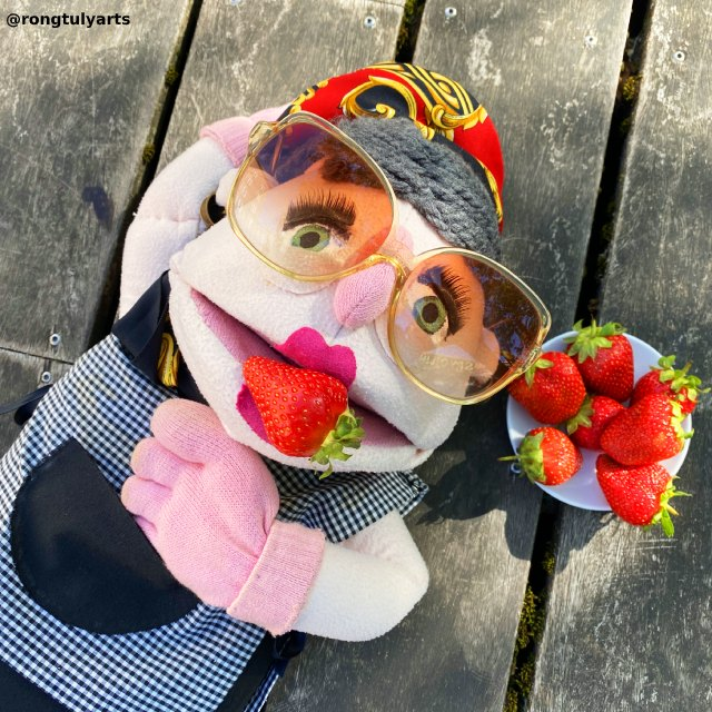 Strawberry (Jordbær) // Season: Summer