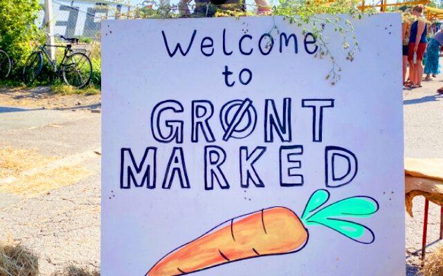 GRØNT MARKED, the farmer's market in Copenhagen