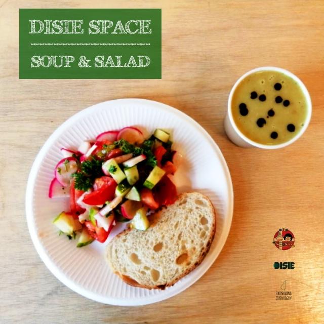 Broccoli carrot soup & salad // food rescue